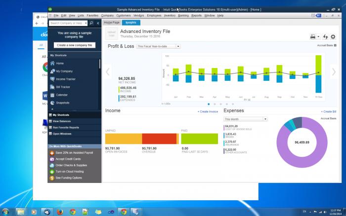 quickbooks accountant hosting